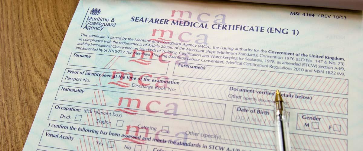 Seafarer medical form - YourGP
