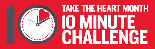 Heart Month 10 minute challenge