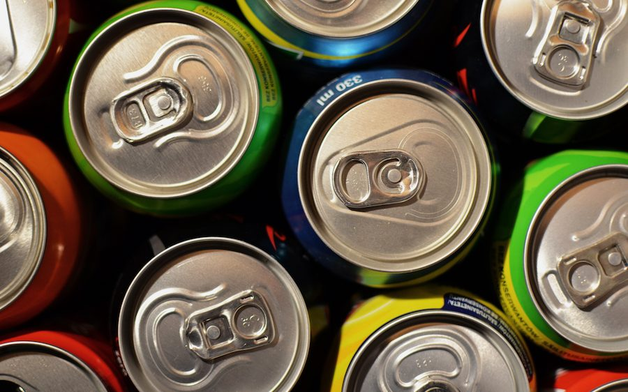 Drinks Cans Sugar Tax