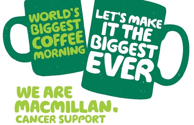 Join the world's biggest coffee morning
